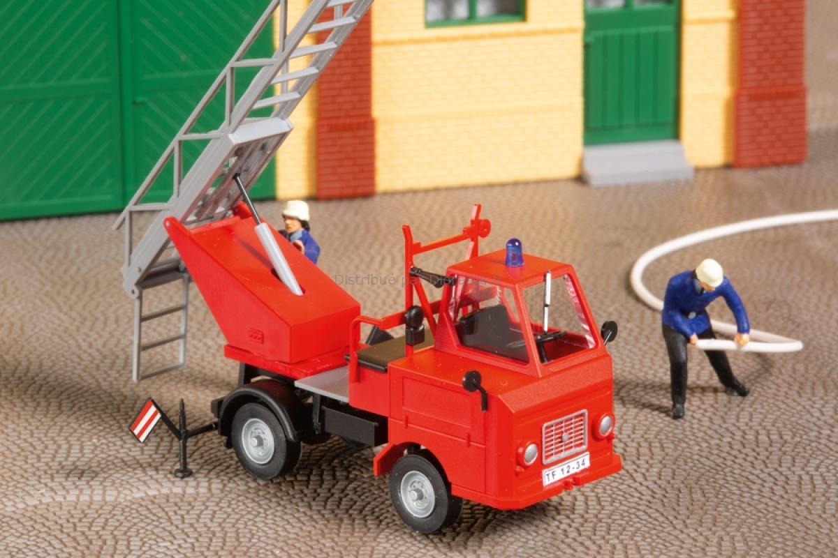 Véhicule miniature : Camion de pompiers Multicar M22 - 1:87 H0 - Auhagen 41655
