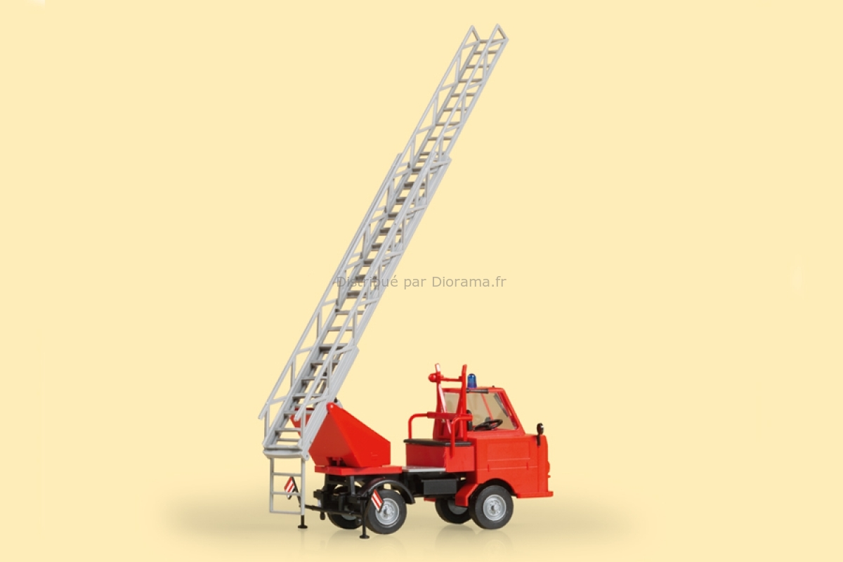 Véhicule miniature : Camion de pompiers Multicar M22 - 1:87 H0 - Auhagen 41655Véhicule miniature : Camion de pompiers Multicar M22 - 1:87 H0 - Auhagen 41655