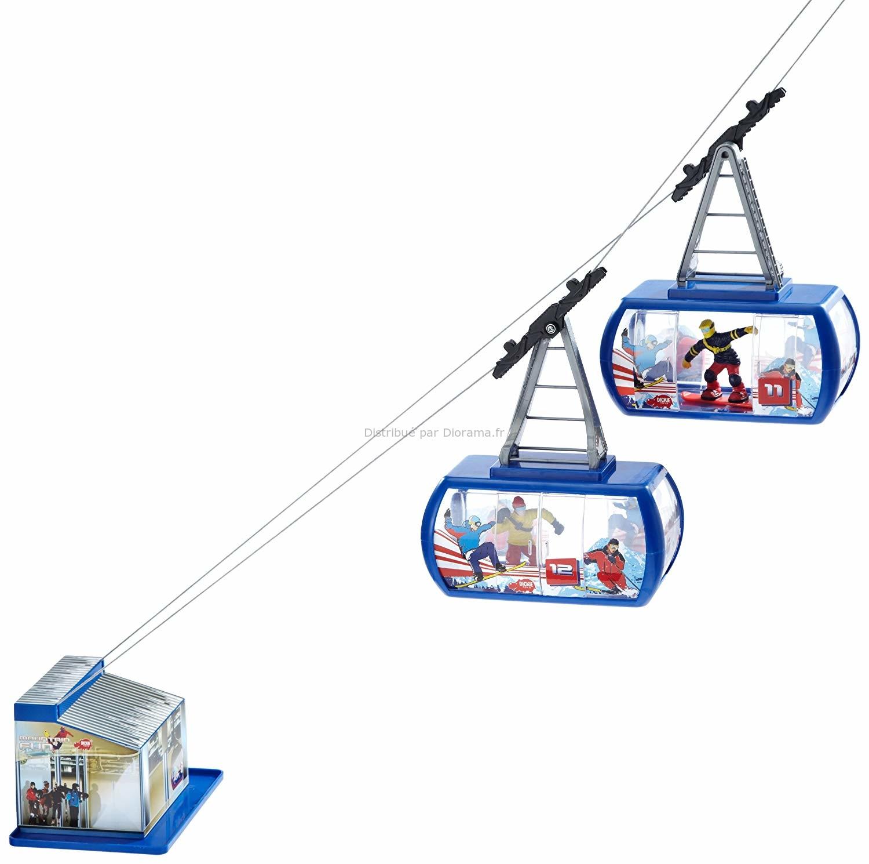 Téléphérique électrique miniature
