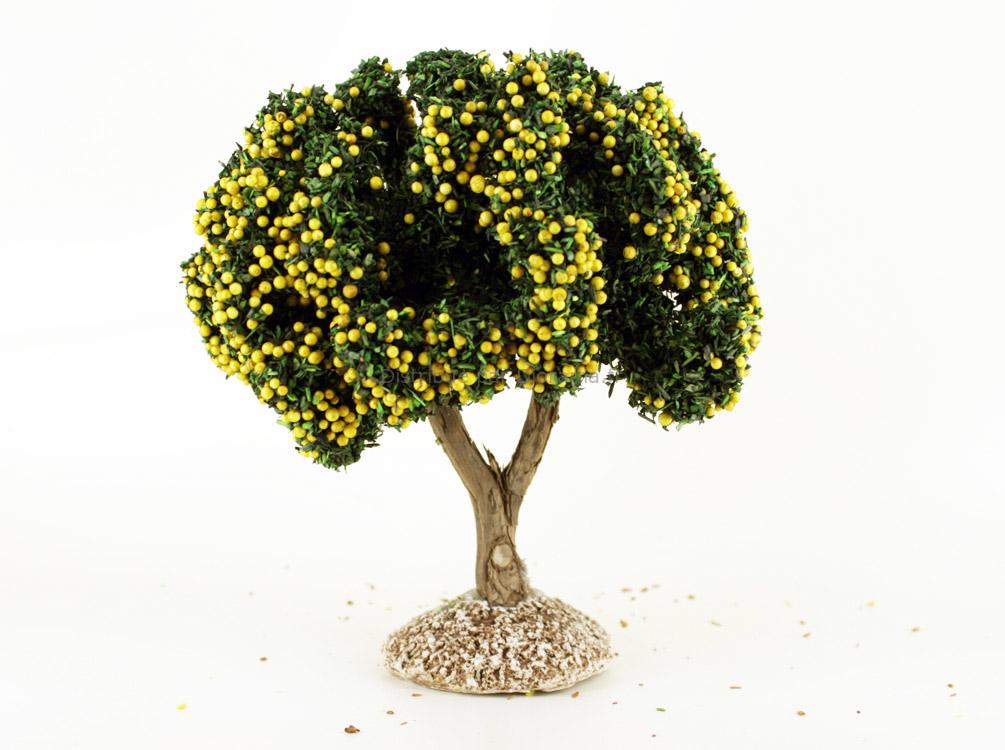 Citronnier miniature 14 cm - décors pour crèches FR-91691-C