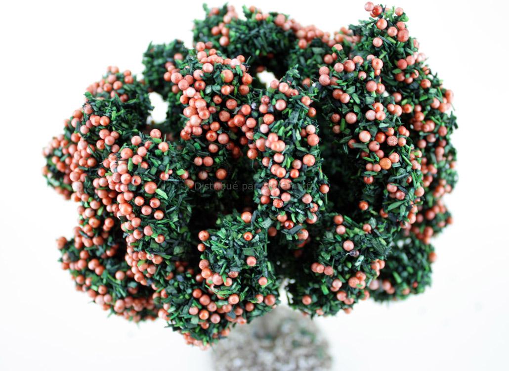 Mandarinier miniature 14 cm - décors pour crèches FR-91691-M