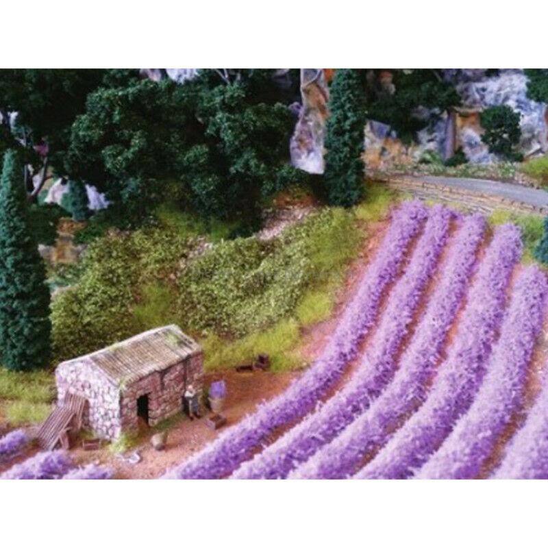 10 bandes lavandes miniatures 1:87, HO - Heki 1826