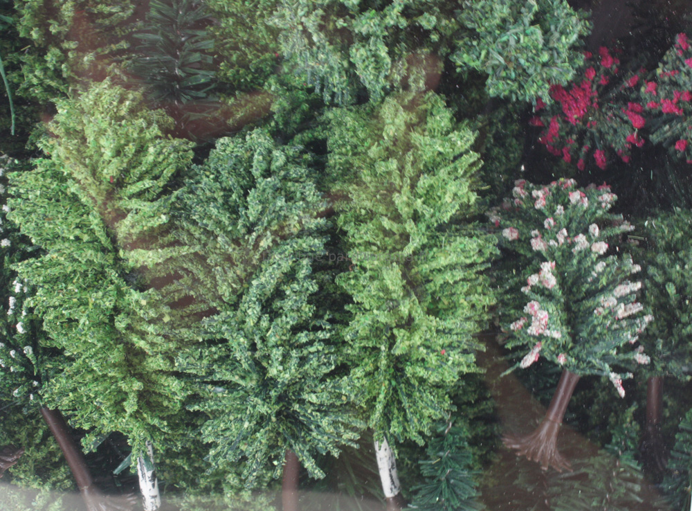 JORD-4A - 50 sapins miniatures et arbres 3-12 cm 1:87, HO
