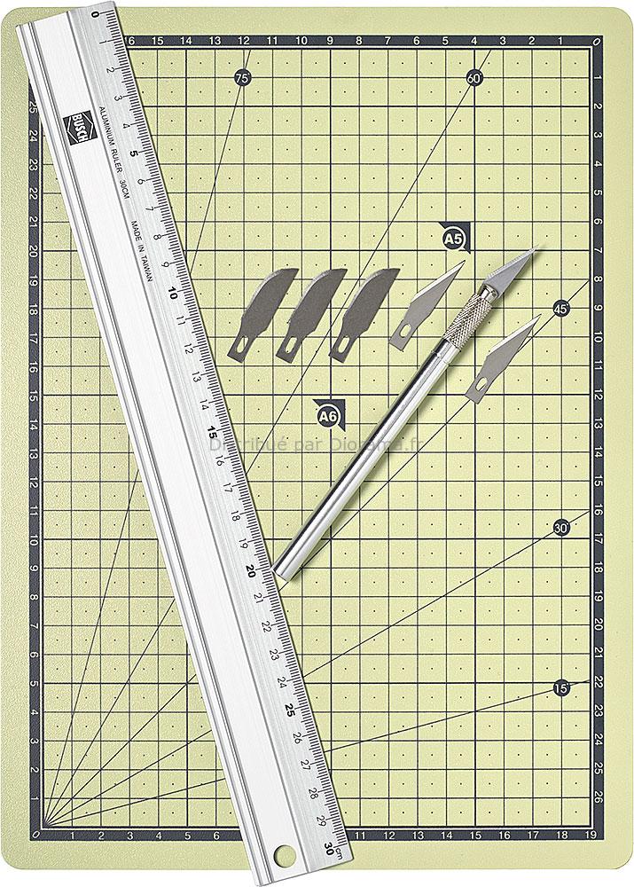Set de découpe, outils modélisme - Busch 7202