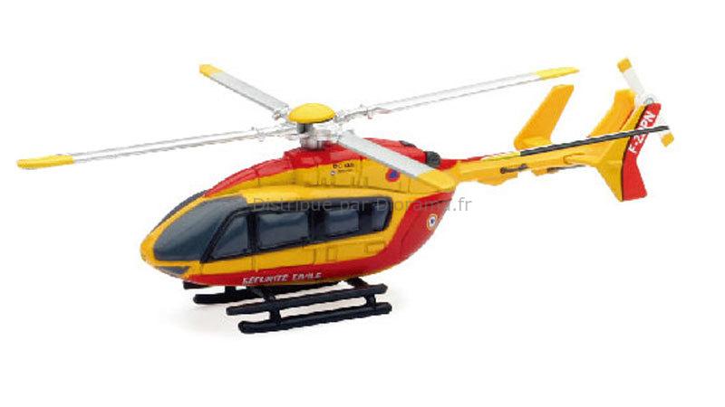Eurocopter EC 145 sécurité civile 10 cm 1:100