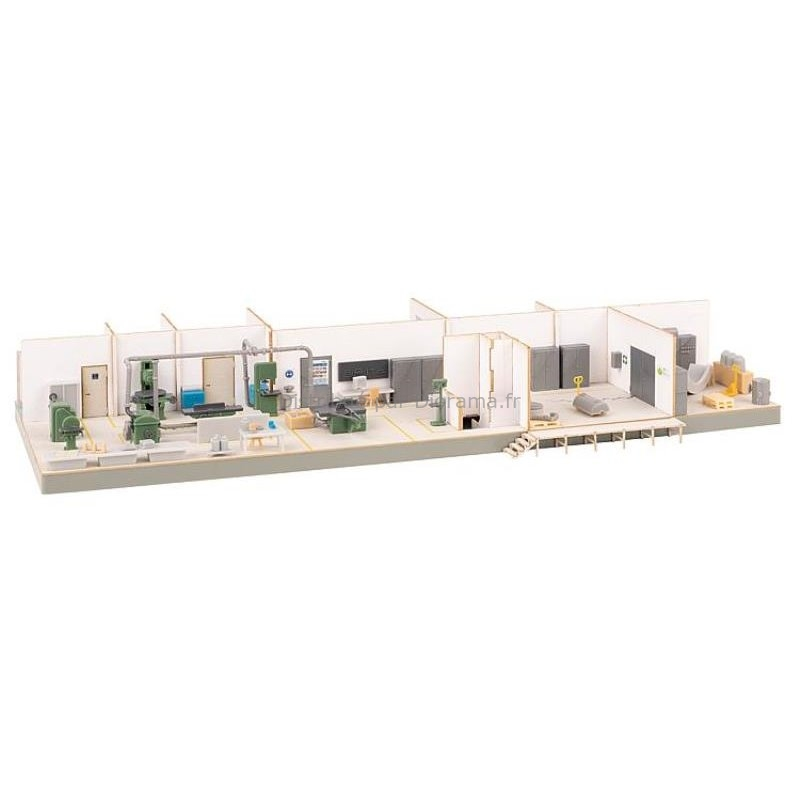 Atelier avec aménagement intérieur ho, 1:87 - Faller 130168