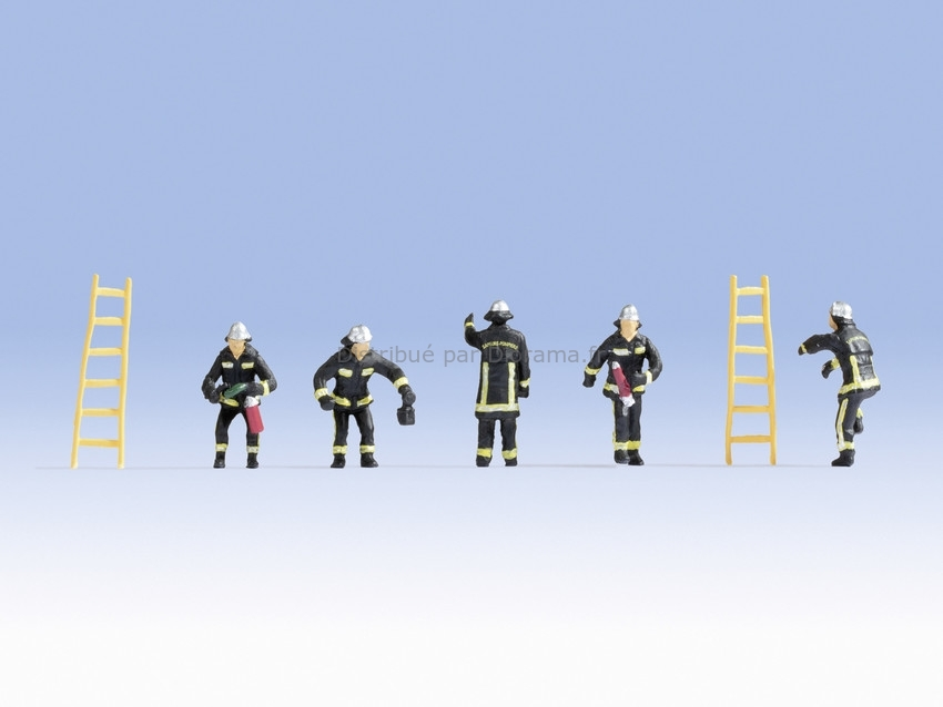 Figurines miniatures : Pompiers de France - 1:87 - Noch 15023