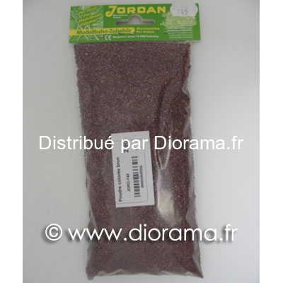 JORD-745 - Poudre colorée brun 45 g