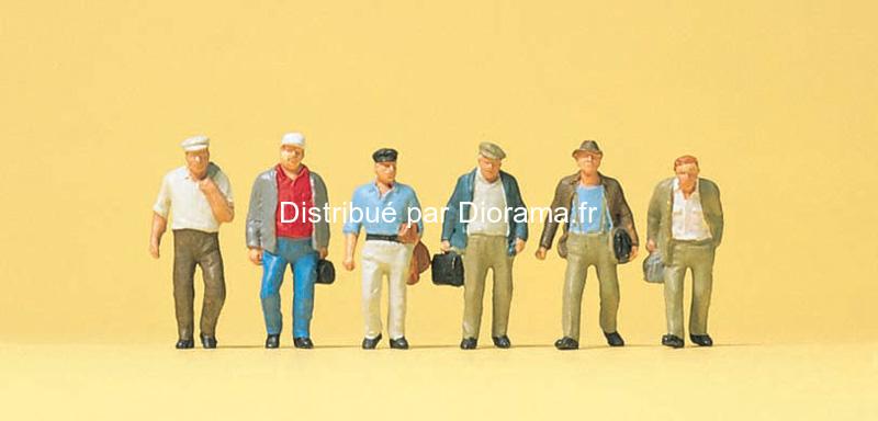 Preiser 74012 - Passants miniatures 1:100