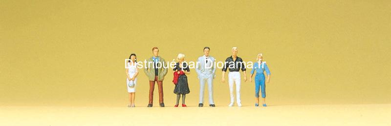 Preiser 80907 - Passants miniatures 1:200