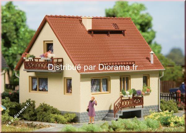 "Maison miniature ""Ingrid"" 1:87, 1:120"