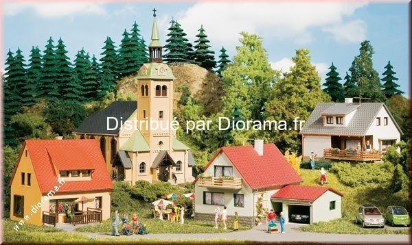 Petit village miniature - kit de base 1:87, 1:120