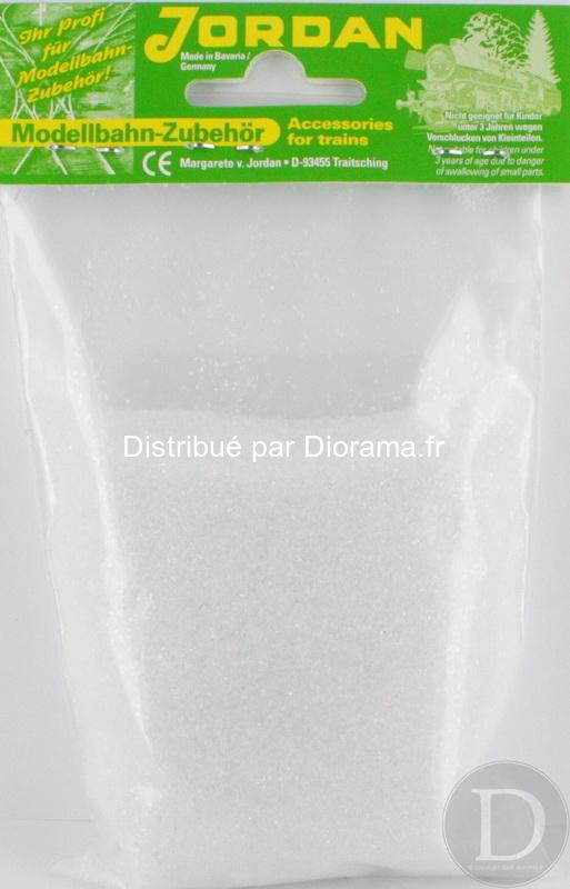 JORD-807 - Neige - Gravier blanc brillant 150 g 1:87