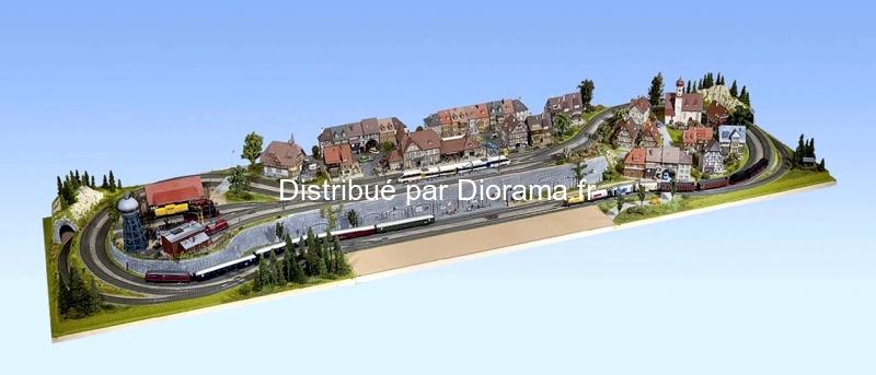 Noch 80330 - Plateau modulaire 1:87, 120 x 100 cm