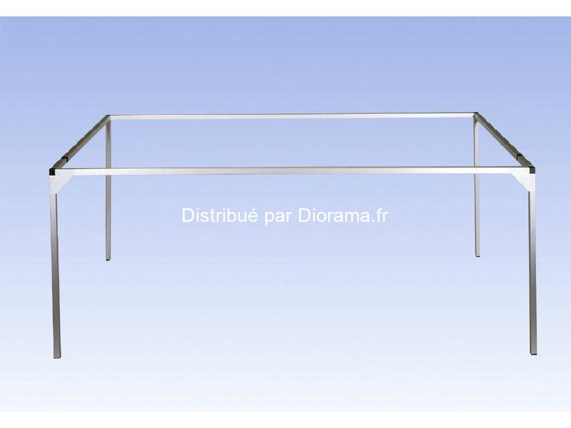 Noch 62160 - Cadre aluminium - 160 x 100 cm (extenssible de 20 cm)