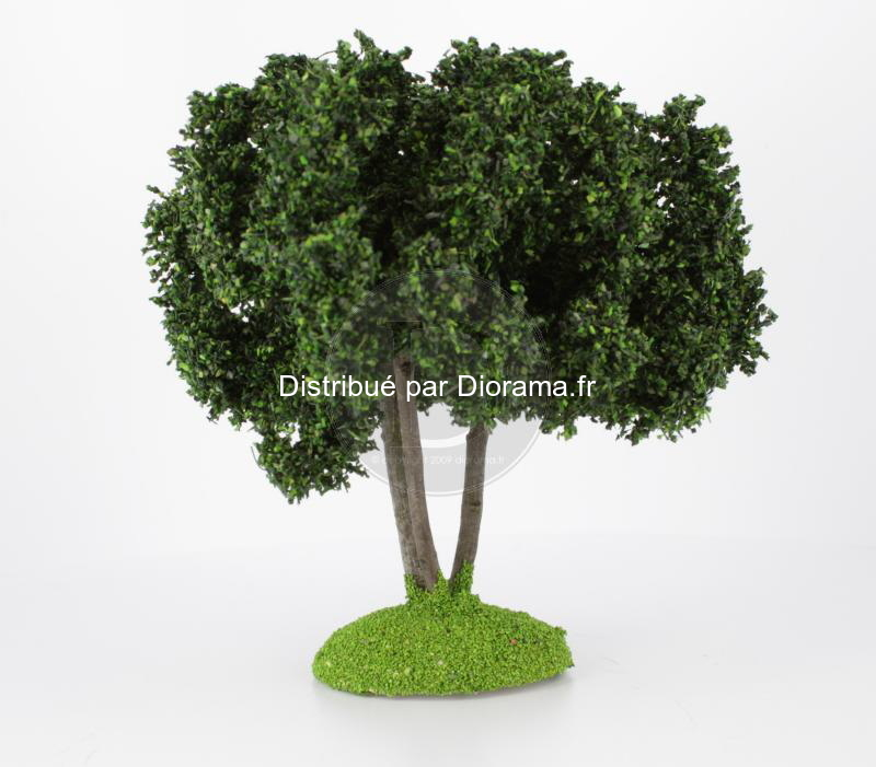 Chêne truffier miniature 14 cm tronc bois
