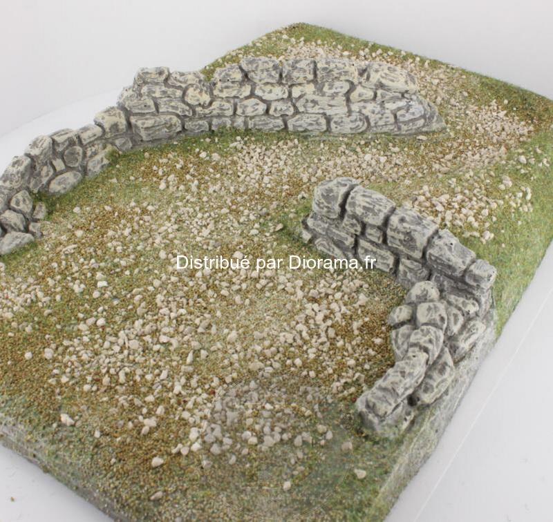 Plateau en pierre reconstituée 33 cm - FR 28100