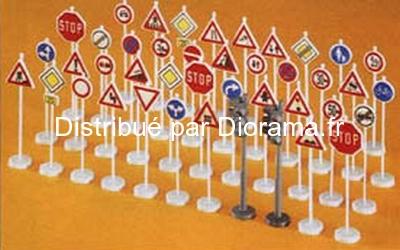 Preiser 18203 - Signalisation routière miniature 1:87