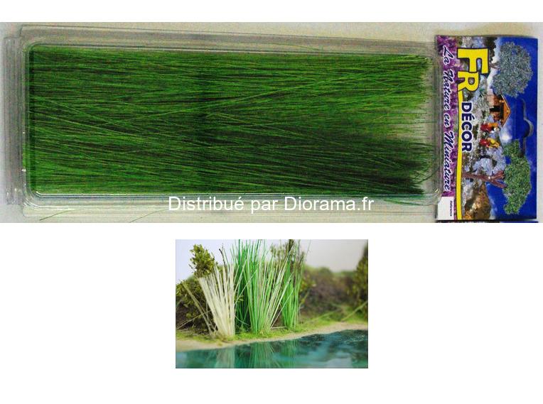Roseaux longs verts 20 cm