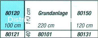 Noch 80120 - Extension gauche de Plateau