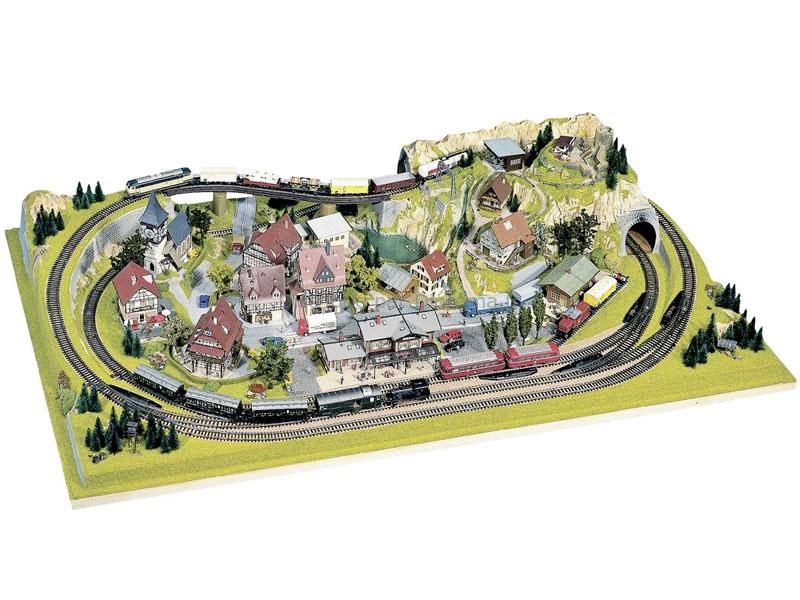 Noch 81580 - Plateau Konigsfeld HO 1:87, TT 1:120, N 1:160 - 160, x 100 cm, hauteur 24 cm